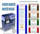 Thumbnail IInternet marketer Minisites package