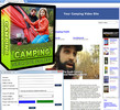 Thumbnail Camping Video Site Builder