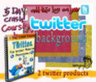 Thumbnail twitter crash course and twitter background