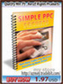 Thumbnail Simple Pay Per Click Secrets-PLR