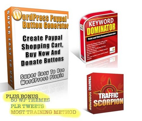 Product picture WORDPRESS PAYPAL plugins
