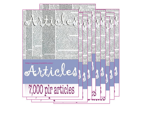 Product picture 7000 Plr Articles