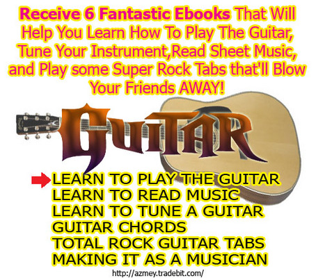 Product picture Learn to Play Guitar - 6 ebooks