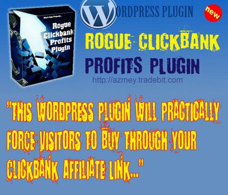 Product picture New WordPress Plugin- Rogue Clickbank Profits