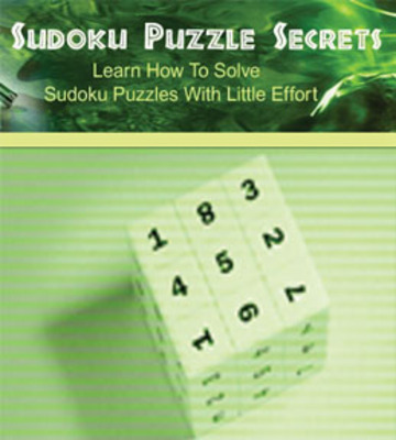 Product picture Sudoku puzzle secrets