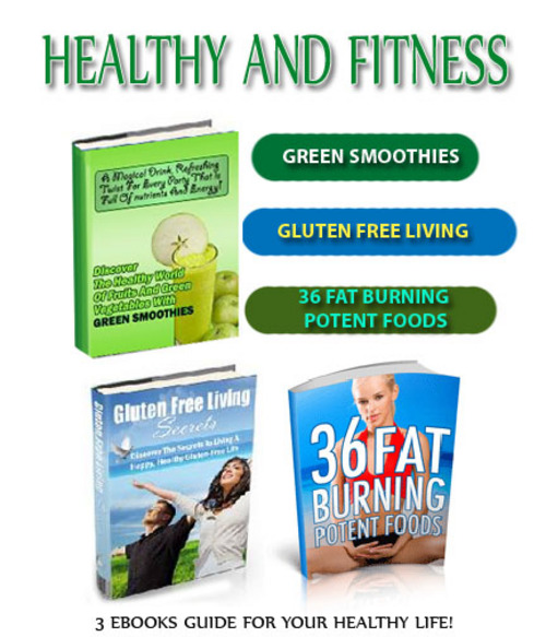 Product picture Health and Fitness - 3 ebooks