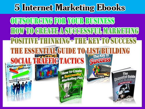 Product picture Internet Marketing Guide ebooks