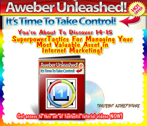 Product picture Aweber Unleased-List Building Tutorials