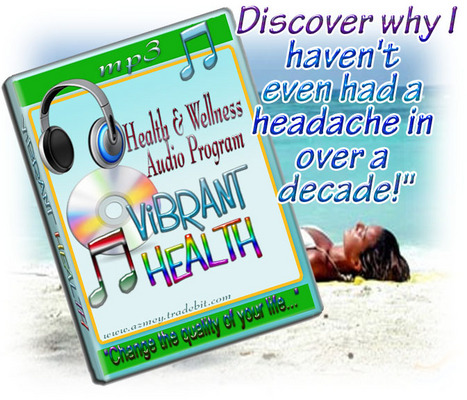Product picture VIBRANT HEALTH-Health and Wellness Audio Program
