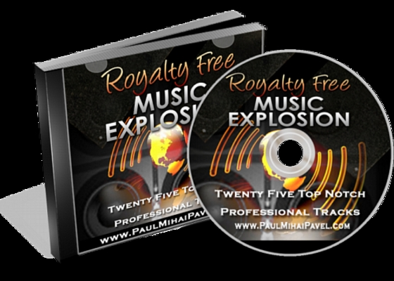 Product picture Royalty Free Music Explosion_mrr