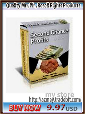 Product picture SECOND CHANCE PROFITS