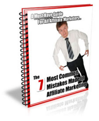 Product picture  The 7 Most Common Mistakes Made in Affiliate Marketing