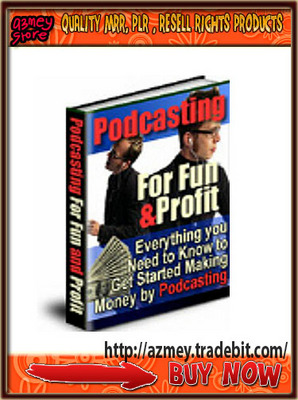 Product picture Podcasting for Fun and Profit