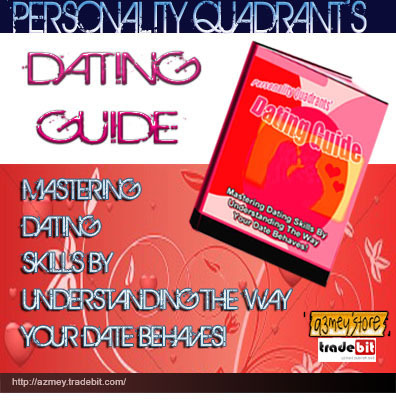 Product picture Personality Quadrants Dating Guide