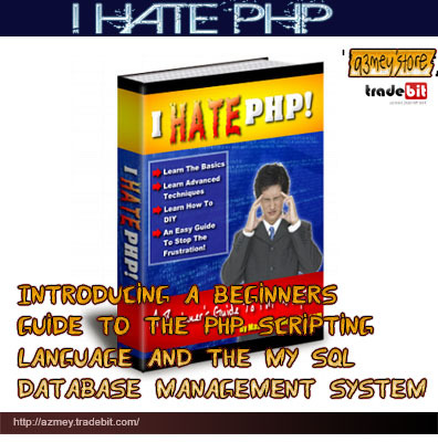 Product picture I HATE PHP