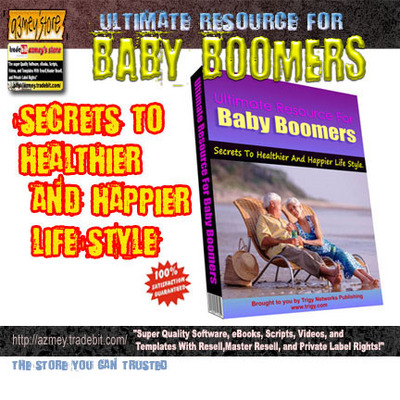 Product picture BABY BOOMERS RESOURCE