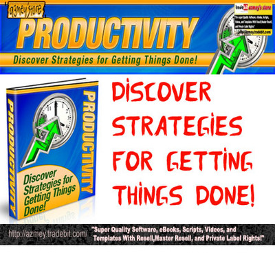 Product picture Productivity